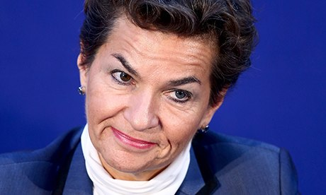 U.N. Climate Chief Christian Figueres, of Costa Rica, via EPA
