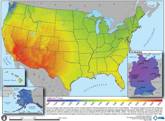 Humidity Map Of Usa - Us-humidity-map